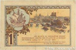1 Franc FRANCE régionalisme et divers PARIS 1920 JP.097.36 TB