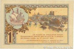 1 Franc FRANCE régionalisme et divers Paris 1920 JP.097.36 TTB
