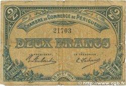 2 Francs FRANCE régionalisme et divers PÉRIGUEUX 1914 JP.098.06 B
