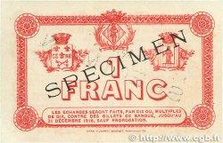 1 Franc FRANCE régionalisme et divers PERPIGNAN 1915 JP.100.08 TTB+