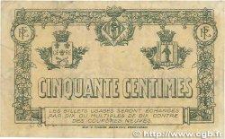 50 Centimes FRANCE régionalisme et divers PERPIGNAN 1919 JP.100.25 TB