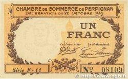 1 Franc FRANCE régionalisme et divers Perpignan 1919 JP.100.29 pr.NEUF