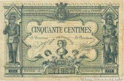 50 Centimes FRANCE régionalisme et divers POITIERS 1915 JP.101.01 TB