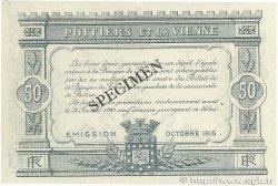 50 Centimes FRANCE régionalisme et divers POITIERS 1915 JP.101.02 TTB+