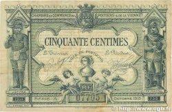 50 Centimes FRANCE régionalisme et divers POITIERS 1915 JP.101.05 TB