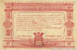 50 Centimes FRANCE régionalisme et divers POITIERS 1917 JP.101.10 TTB