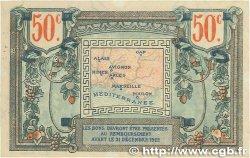 50 Centimes FRANCE régionalisme et divers Alais, Arles, Avignon, Gap, Marseille, Nîmes, Toulon 1918 JP.102.01 TTB