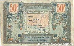 50 Centimes FRANCE régionalisme et divers ALAIS, ARLES, AVIGNON, GAP, MARSEILLE, NÎMES, TOULON 1918 JP.102.01 B+