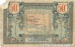 50 Centimes FRANCE régionalisme et divers ALAIS, ARLES, AVIGNON, GAP, MARSEILLE, NÎMES, TOULON 1918 JP.102.01 B