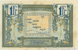 1 Franc FRANCE régionalisme et divers Alais, Arles, Avignon, Gap, Marseille, Nîmes, Toulon 1918 JP.102.04 TTB