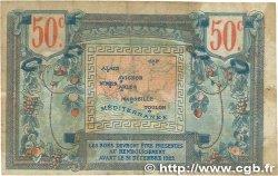 50 Centimes FRANCE régionalisme et divers Alais, Arles, Avignon, Gap, Marseille, Nîmes, Toulon 1918 JP.102.07 pr.TTB