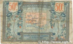 50 Centimes FRANCE régionalisme et divers Alais, Arles, Avignon, Gap, Marseille, Nîmes, Toulon 1918 JP.102.07 B