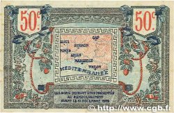 50 Centimes FRANCE régionalisme et divers ALAIS, ARLES, AVIGNON, GAP, MARSEILLE, NÎMES, TOULON 1918 JP.102.09 TTB+