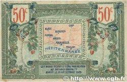 50 Centimes FRANCE régionalisme et divers Alais, Arles, Avignon, Gap, Marseille, Nîmes, Toulon 1918 JP.102.13 TTB