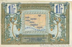 1 Franc FRANCE régionalisme et divers ALAIS, ARLES, AVIGNON, GAP, MARSEILLE, NÎMES, TOULON 1918 JP.102.18 TTB+