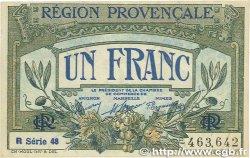 1 Franc FRANCE régionalisme et divers Alais, Arles, Avignon, Gap, Marseille, Nîmes, Toulon 1918 JP.102.18 SUP