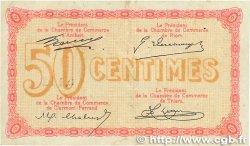 50 Centimes FRANCE régionalisme et divers Puy-De-Dôme 1918 JP.103.01 TTB