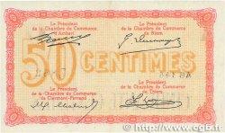 50 Centimes FRANCE régionalisme et divers PUY-DE-DÔME 1918 JP.103.03 TTB+