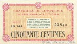 50 Centimes FRANCE régionalisme et divers Puy-De-Dôme 1918 JP.103.03 SPL