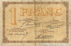 1 Franc FRANCE régionalisme et divers PUY-DE-DÔME 1918 JP.103.06 B+