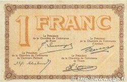 1 Franc FRANCE régionalisme et divers Puy-De-Dôme 1918 JP.103.06 TTB