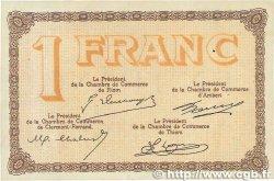 1 Franc FRANCE régionalisme et divers PUY-DE-DÔME 1918 JP.103.08 TTB