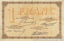 1 Franc FRANCE régionalisme et divers Puy-De-Dôme 1918 JP.103.16 B+