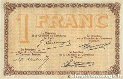 1 Franc FRANCE régionalisme et divers PUY-DE-DÔME 1918 JP.103.16 TTB