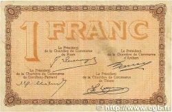 1 Franc FRANCE régionalisme et divers PUY-DE-DÔME 1918 JP.103.20 TB