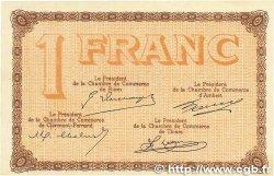 1 Franc FRANCE régionalisme et divers PUY-DE-DÔME 1918 JP.103.21 TTB+