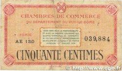50 Centimes FRANCE régionalisme et divers Puy-De-Dôme 1918 JP.103.23 B+