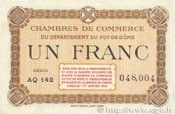 1 Franc FRANCE régionalisme et divers Puy-De-Dôme 1918 JP.103.25 SUP