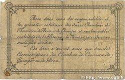 1 Franc FRANCE régionalisme et divers Quimper et Brest 1915 JP.104.05 B