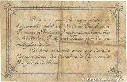 2 Francs FRANCE régionalisme et divers QUIMPER et BREST 1917 JP.104.09 B