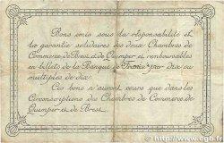 1 Franc FRANCE régionalisme et divers Quimper et Brest 1920 JP.104.17 B