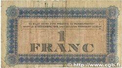 1 Franc FRANCE régionalisme et divers Roanne 1915 JP.106.02 B