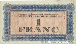 1 Franc FRANCE régionalisme et divers ROANNE 1915 JP.106.02 TB