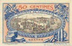 50 Centimes FRANCE régionalisme et divers Roanne 1917 JP.106.09 SUP