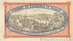 1 Franc FRANCE régionalisme et divers Roanne 1917 JP.106.12 SUP