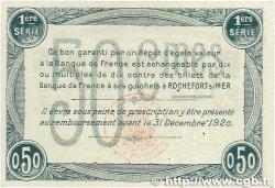 50 Centimes FRANCE régionalisme et divers Rochefort-Sur-Mer 1915 JP.107.02 SUP