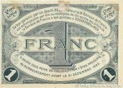1 Franc FRANCE régionalisme et divers ROCHEFORT-SUR-MER 1915 JP.107.09 TTB