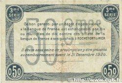 50 Centimes FRANCE régionalisme et divers ROCHEFORT-SUR-MER 1915 JP.107.11 TTB