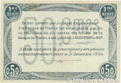 50 Centimes FRANCE régionalisme et divers Rochefort-Sur-Mer 1915 JP.107.11 TTB+