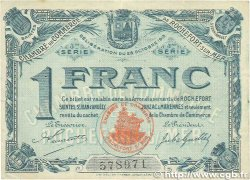 1 Franc FRANCE regionalism and miscellaneous Rochefort-Sur-Mer 1915 JP.107.13 VF