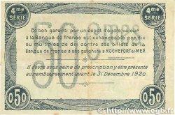 50 Centimes FRANCE régionalisme et divers ROCHEFORT-SUR-MER 1915 JP.107.15 TTB