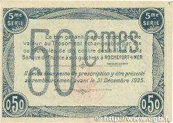 50 Centimes FRANCE régionalisme et divers ROCHEFORT-SUR-MER 1920 JP.107.17 TTB