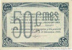 50 Centimes FRANCE régionalisme et divers ROCHEFORT-SUR-MER 1920 JP.107.17 SUP