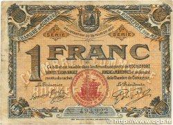 1 Franc FRANCE régionalisme et divers ROCHEFORT-SUR-MER 1920 JP.107.19 B