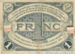1 Franc FRANCE régionalisme et divers Rochefort-Sur-Mer 1920 JP.107.19 B+