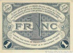 1 Franc FRANCE régionalisme et divers ROCHEFORT-SUR-MER 1920 JP.107.19 TTB+